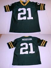 Youth Green Bay Packers Charles Woodson L (10/12) Jersey (Green) NFL Team Appare