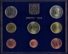 49435) Vatikan, KMS 2014, 1 Cent - 2 Euro, Franziskus, st