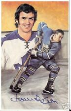 Dave Keon Autographed Hockey Legends Card Tough Auto.