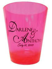 350 New PERSONALIZED SHOT GLASSES Party Wedding Favors