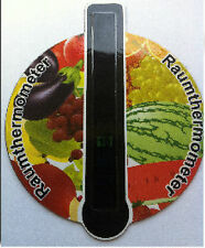 Magnetic Room Thermometer Room Temperature Tester **Stick on Fridge etc**