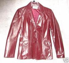 Retro Vintage Northside Fashions Genuine Leather Jacket - Size 7 Coat