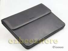 "CHINAO for Apple MacBook Pro 15.6"" Padded Sleeve leather Case hand bag Black"