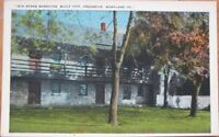 1920 Postcard-Old Stone Barracks-Frederick, Maryland MD
