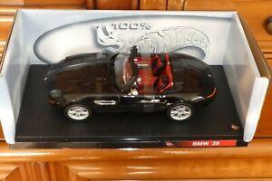 BMW Z8 Cabriolet noir 1/18 HOT WHEELS Mattel voiture miniature collection NEUF