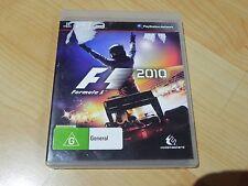 F1 FORMULA 1 2010   (PS3 GAME)