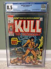 Kull the Conqueror #1 1971 - CGC 8.5 Sal Buscema cover- Origin & 2nd app of Kull