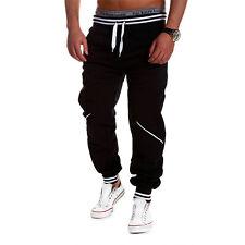 CABALLEROS Gimnasio Informal Deporte Pantalón Chándal Jogging Pantalones