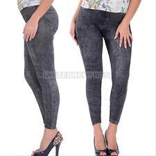 Women Slim Denim Sexy Skinny Leggings Jean Jeggings Stretch Pants Black/ Blue