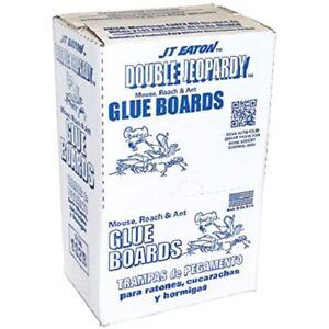 Double Jeopardy Glue Board Inserts Mice Traps 12 Sheets X 2 Boards = 24 Traps!