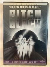 Pitch Black Unrated Directors Cut Dvd Radha Mitchell Vin Diesel Cole Hauser