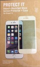 RadioShack Protect It Impact-Resistant Glass Screen Protector + Case for iPho...