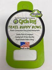 New Cycle Dog Trail Buddy Bowl Eco-friendly