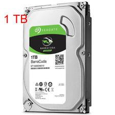 "Seagate 1TB Hard Disk Drive Solid State 64MB Desktop PC Cache 7200RPM SATA 3.5"""
