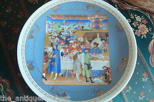 """D'Arceau Limoges collector plate """"January"""" Nib with original box and certs[2r]"""