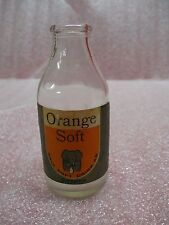 KAIS 'ORANGE SOFT' SOFT DRINK SODA BOTTLE - SWEDEN