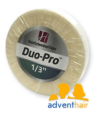 """Duo-Pro Hair Extension Tape Roll 1/3"""" x 6 yds WALKER wefts lace wig hairpiece"""