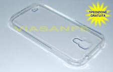 Cover Custodia Case 9 Colori Per Samsung Galaxy S4 i9500 Silicone Gel Trasparent