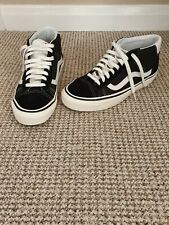 Vans mid old skool 37 size 8 black/white
