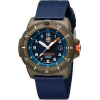 Luminox Men's Watch Bear Grylls Survival Quartz Blue Dial Nylon Strap 3703