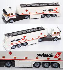Siku Super 3511 03904 Mercedes SK Tankzug mit TOPAS-Aufbau, swissair