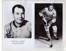 AB MCDONALD 1967-68 PITTSBURGH PENGUINS ORIGINAL TEAM ISSUE 8x10 NHL PHOTOGRAPH