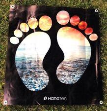 Hang ten surf canvas vinyl banner logo poster sign