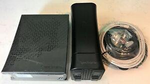 Lot of 3: Spectrum Modem E31N2V1, Spectrum Router RAC2V1S, HSD Kit