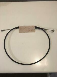 "Ariel Front Brake Control Cable 6479-56 +4"" FullAlloyHub & 5/16""LeverAdjuster UK"