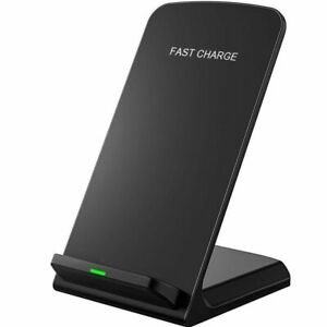 Wireless Fast Charger Cordless Qi Charging Pad Stands For Apple Iphone X 8 8+