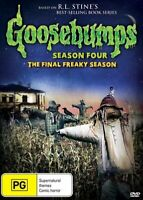 Goosebumps Season 4 FOUR ( DVD ) R.L STINE - THE FINAL SERIES !! REGION 4 - RARE