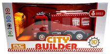 RC Modell Feuerwehrauto FEUERWEHR LKW  Ferngesteuert AUTO spielzeug kinder LICHT