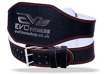 EVO 15.2cm 10.2cm Vera Pelle Gym Cinture Sollevamento pesi Supporto Schiena
