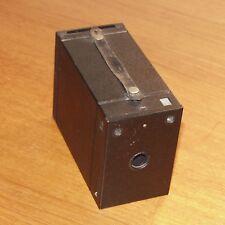 KODAK No.2 FILM PACK HAWK-EYE metal black Box Camera 2.25x3.25 made in CANADA
