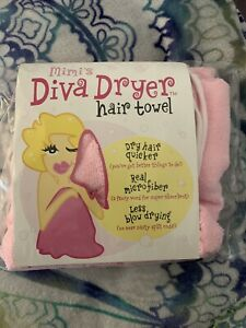 New Pink Hair Drying Towel