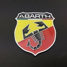 1x Scorpion Car Aluminum Emblem Sticker for ABARTH Fiat 500 695 Punto Brava etc.