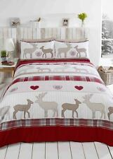 Rapport Duvet Cover 100 Brushed Cotton Red King