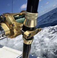 Custom Engraved Reel Clamp PENN International 30 50 70 Anodized Aluminum Fishing