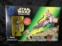 Star Wars PotF: Speeder Bike with Princess Leia (Kenner,1997)