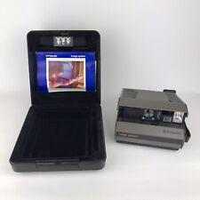 Cámara Polaroid Imagen del sistema AF Flash incorporado y 125mm Lente f10 Con Estuche/Manual