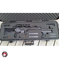 Custom Gun Case Two Paintball Travel Waterproof Locking Hard Rifle Ar 15 Scope