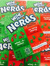 Wonka Nerds Wild Cherry and Watermelon 60 Packs FREE SHIPPING