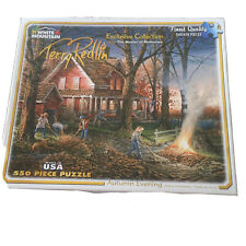 White Mountain Puzzles Autumn Evening-550 Piece Jigsaw Puzzle