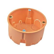 Hohlraumdose 10x VDE Hohlraum-Wandauslassdose 45x35mm /& Deckel Schalter