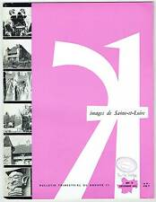 Images de Saone & Loire N°7 - 1970 - Maisons paysannes Bresse - Verzé en Macon