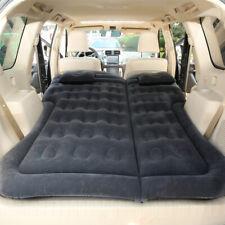 Car SUV Air Bed Sleep Travel Inflatable Mattress Seat Cushion Mat with Pump A4C5