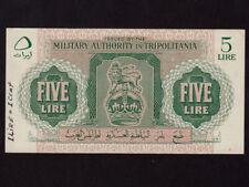 Libya/Tripolitania:P-M3,5 Lira ,1943 * WWII * AU- * NR ! *