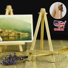 Wooden Mini Easel Stand Table Card Stand Holder Small Picture Display Decoration