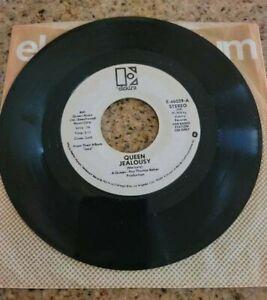 """Jealousy US Promo 7"""" Single - (Queen Freddie Mercury)"""