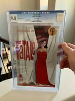 Fatale #15 GHOST Variant CGC 9.8 Ed Brubaker - Darwyn Cooke Cover Very RARE!!!!